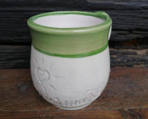 grun keramik haferl