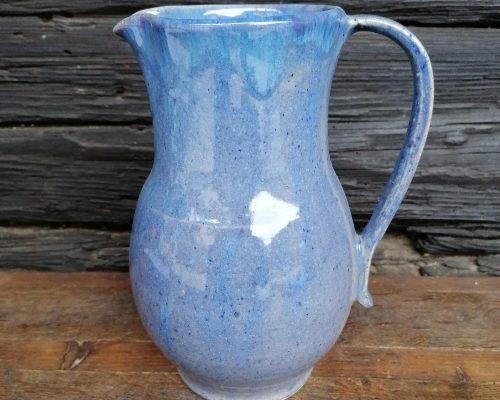 blau keramik krug