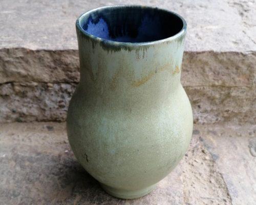 grün-blau keramik vase 1
