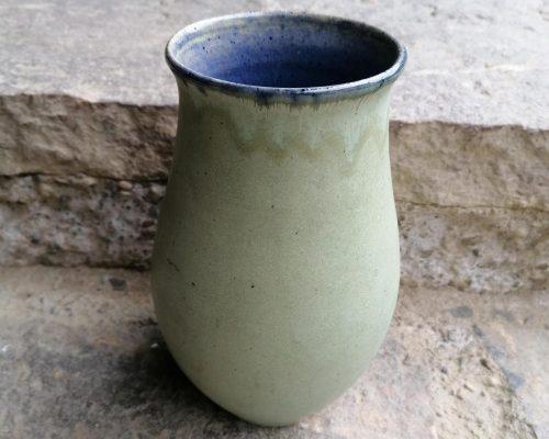 grün-blau keramik vase 2