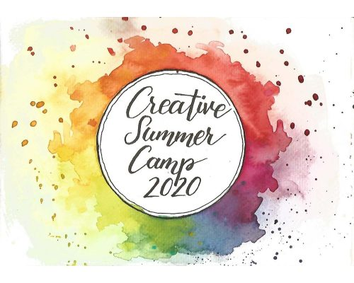 lettering concept Creative Summer Camp 2020
